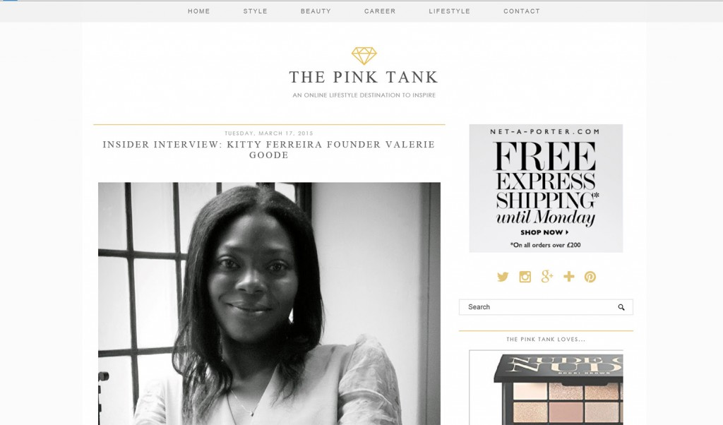 the pink tank