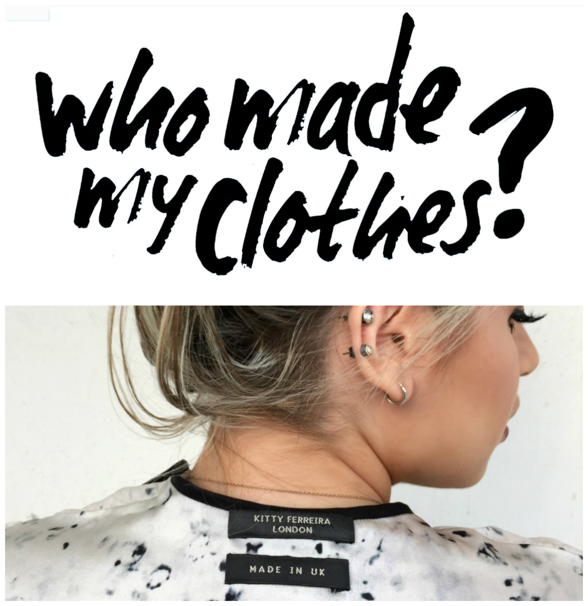 #whomademyclothes #fashionrevolution #fashrev