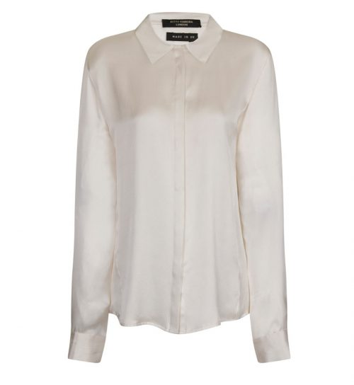 Classic Cruelty-Free Silk Shirt (Front)