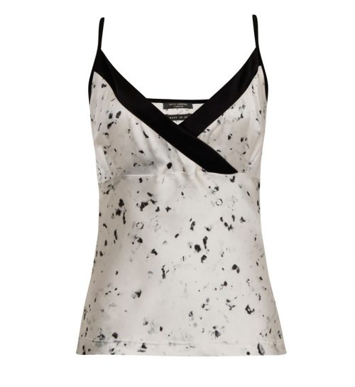 Inky Wrap Cami (Front)