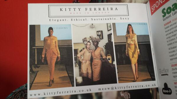 Kitty Ferreira featured in the 'Meet the Manufacturer' #MiBMM brochure